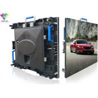 China AC200V/240V P4 Outside Led Signs Full Color Electronic Advertising Boards 1R1G1B on sale