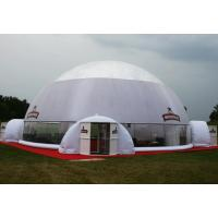 White Blue Dome PVC Tarpaulin Inflatable Party Tent With Any Kind Of Size