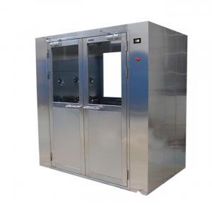 China Butt Welded 1300*1500*2150mm Interlock 1.6Kw Air Shower Room on sale