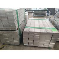 Quality 7075 T6 Standard Aluminum Extrusions Aluminum Flat Bar 5052 With Mold JIS H4000 Standard for sale
