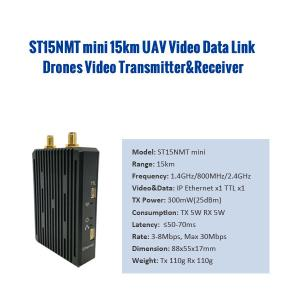 Quality Military Defense PTP PTMP 15km 2.4G Drone Video Transmitter for sale