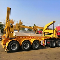 China 20ft Container Side Loader Trailer for Sale in Papua New Guinea on sale