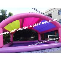 Buy cheap 0.9mm PVC Tarpaulin Inflatable Swimming Pool with mobile Tent product