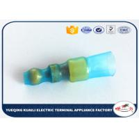 Quality Waterproof Green Heat Shrink Wire Terminals With Hot-Melting Plastic Coils for sale