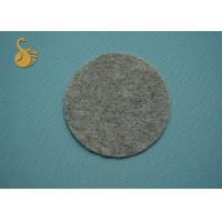 Quality 120g Non Woven Grey Felt Fabric , Polyester Raw Material For Non Woven Fabric for sale