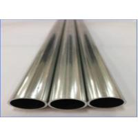 Quality Seam Brazing Aluminum Pipe GB/T 5237 Standard High Strength Material for sale