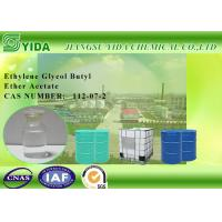 Buy cheap IBC Drums Package Ethylene Glycol Butyl Ether Acetate Solvent For Printing Inks product