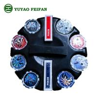Quality Round Corner 200 Pcs Beautiful Poker Chips Plastic / Clay / Ceramic Poker Chips Set for sale