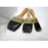Buy cheap Wooden Handle Flat Wall Paint Brush , 2 Inch / 3 Inch Professional Paint Brushes product