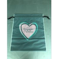 Quality Cpe Personalized Drawstring Bags Environmental Protection Customized Color for sale