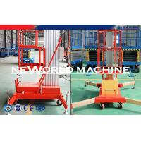 Quality Electric Aluminum Alloy Telescopic Man Lift Platform / Aerial Working Platform Lift for sale