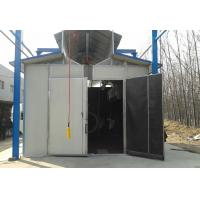 Quality Environmental Protection Shot Blasting Booth With Dust Removal System / Lighting Device for sale