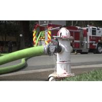 Quality 3000  LEN  Fire Hose complete with ULC approved instantaneous coupling anti-mildew treated for sale