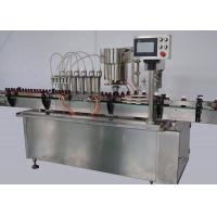 Quality 380V / 220V 1.2Kw Liquid Packing Machine 6heads 20 - 100 bottles per minute for sale
