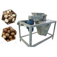 Quality 250 kg/h Industrial Macadamia Nut Shelling Cracker Machine Automaticlly for sale