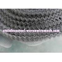 "Quality Crimped Stainless Steel Knitted Mesh Width 30"" / 42 Inch Wear - Resistance For Oil - Gas Separation for sale"