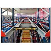 Quality Industrial Radio Shuttle Racking SystemHeavy Duty Storage Space Saving for sale