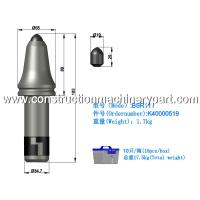 Quality High Toughness Bullet Teeth Conical Bits Longer Tooth Life BSR111 for sale