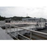 Quality Modern Designed Pre Manufactured Metal Buildings Thermal Insulating Structures for sale