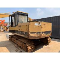 China 0.5m³ bucket used Caterpillar Cat E120B excavator, 12t medium size E120B excavator with mechanical operation on sale