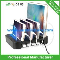 Quality 4 USB travel charger with holder 4 usb wall charger for sale