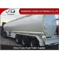 Buy cheap Round 40000L 45000L 50000L Diesel Oil Fuel Tanker Semi Trailer product