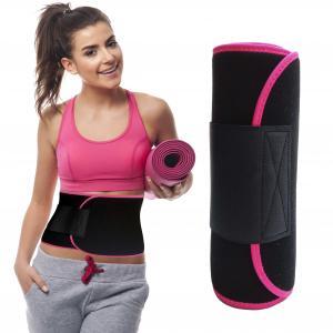 Quality Sports Neoprene Black Waist Sweat Support Belt Adjustable OEM ODM Service for sale