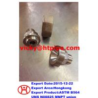China ASTM B564 UNS N08825 male threaded union on sale