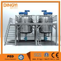 Quality 1000L Shampoo Shampoo Production Line Semi Solid Equipment  Electrical / Steam Heating for sale