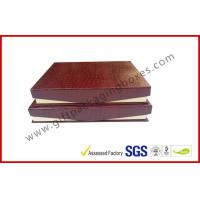 Buy Leather Magnetic Box Customized Crocodile Leather Paper  Satin Covered Foam at wholesale prices