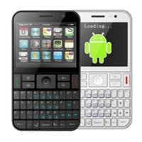 Android Qwerty Keypad Phone A9000 with Quadband WIFI TV dual SIM Cards