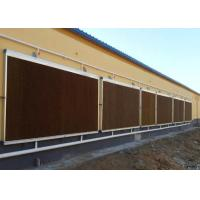 Quality Honey Comb Greenhouse Cooling System Cellulose Paper For Cooler Poultry Farm for sale