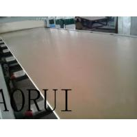 China Double Conical Screw PVC Foam Board Production Line Recycled for Advertising on sale