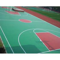 Quality Sandwich System PU Sports Flooring Materials For Futsal Court Surface for sale