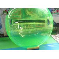 Buy cheap 2m Green PVC Inflatable Walk On Water Ball / Inflatable Water Walking Ball from wholesalers