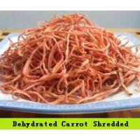 Quality SDV-CARSHR Dehydrated Vegetables Orange Red Finely Shredded Carrots 3×3×20 mm for sale