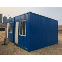 China Metal Premade Movable Modular Homeses Galvanized Sheet Energy Efficient on sale