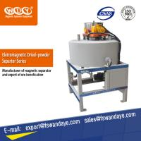 Quality ISO Approved Waste Tire Recycling Dry Powder Magnetic Iron Separator Energy Saving for sale