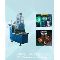 Buy cheap Induction motor pump stator automatic coil winding  making machine with servo system product