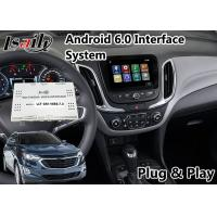 Quality Android 6.0 Navigation Video Interface for Chevrolet Equinox / Traverse Mylink System 2015-2018 Google Waze Spotify for sale
