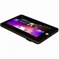 Quality 7-inch Capacitive Multi-touch Panel Tablet PC, S5PV210/Built-in 3G Phone/GPS/Bluetooth/Double Camera for sale