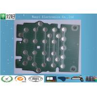 Metal Dome PET Flex Circuit Polyimide Circuit Board 10mm 5 Dimple For Bank Use