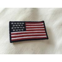 China Custom Embroidered Military Name Patches , Large 3D Embroidery Patches on sale