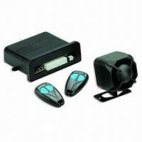 Quality One-way LED Car Alarm System with Override Function for sale