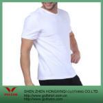 Quality Blank Men's V-neck T Shirt Custom for sale