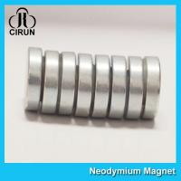 Quality N35-N52 Permanent Neodymium Cylinder Magnets For Motor Generator for sale