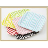 China China products Party tableware Disposable colorfull square Paper Plate paper tray  cake plate on sale