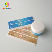 China Cosmetics Products Shrink Sleeve Labels Waterproof Frozen Refrigerated Pearl Laser on sale