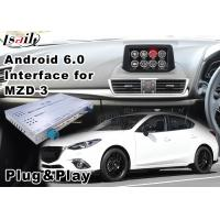 Quality Android 6.0 Car Multimedia Navigation System for Mazda 3 Sedan 2014-2018 Waze IGO for sale