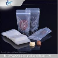 Laminated Material Resealed Plastic Bag With Zipper , Coffee Bean Packaging